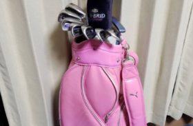 プーマ ダンポップ 女性用 ゴルフセット クラブ キャディーバッグ