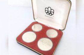 カナダ オリンピック 記念コイン 1967年もの