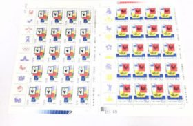 記念切手 シート 数十セット 保存状態良好品