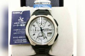 Casio タフソーラー 電波時計 ほぼ未使用 腕時計
