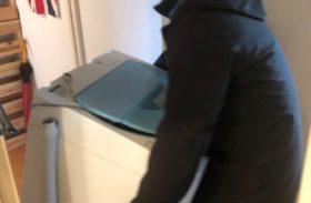 2/15 洗濯機 購入 配達 設置 不要家電回収 買取