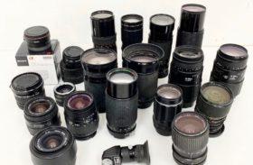 一宮市 カメラ レンズ 大量 まとめて 買取 !!